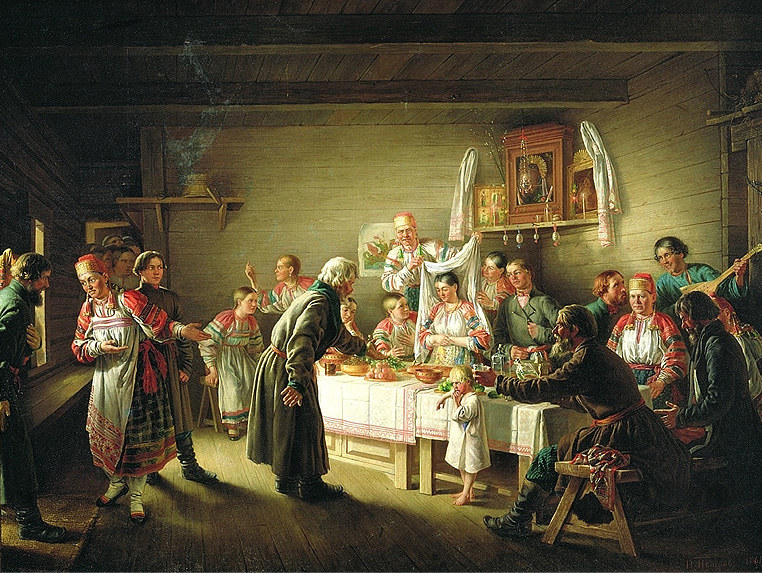 1905 год. Расходы на крестьянскую свадьбу